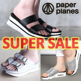 ◆送料無料◆ Paperplanes ◆ SNSで話題Sandal♥1日限定♥韓国のファッションの人気のサンダルスリッパコレクションスポーツアクアシューズ