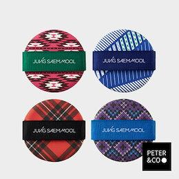 [JUNGSAEMMOOL ジョンセンムル] クッションパフ - シーズンのためのパターン Cushion Puff – Pattern for Season