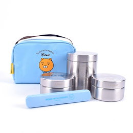 ★[Kakao Friends] [カカオフレンズ]  お弁当 箱 箸を含む/保温/保冷/バッグお弁当/Stainless Thermos lunch box lunchbox