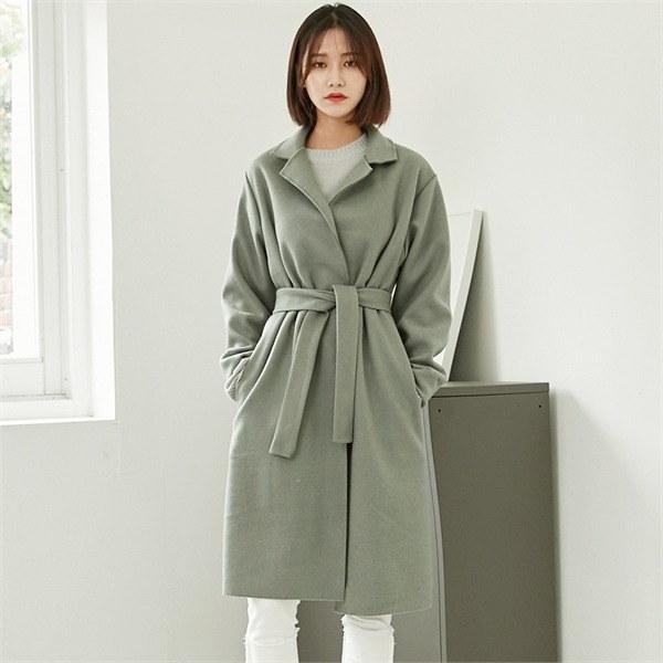ロコ・シックスtwo way wool coatコートnew 女性のコート/ 韓国ファッション/ジャケット/秋冬/レディース/ハーフ/ロング/