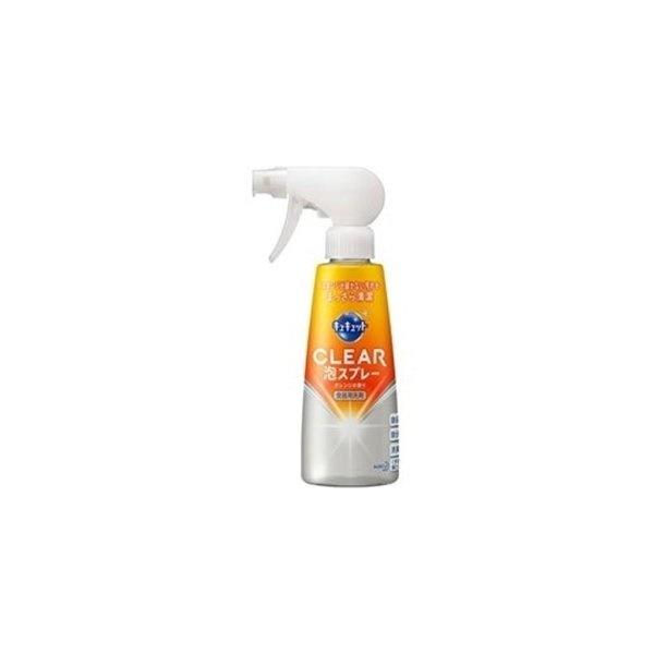 キュキュット CLEAR 泡スプレー オレンジの香り 本体 300ml 製品画像