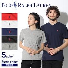 POLO RALPH LAUREN ポロ ラルフローレン Tシャツ ワンポイント Vネック 半袖Tシャツ
