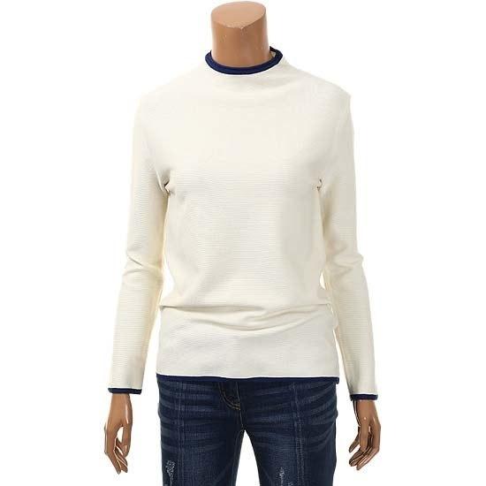 キーベーシックカラーポイントハイネックのニートTUUCB2925 / ニット/セーター/タートルネック/ポーラーニット/韓国ファッション