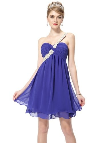 HE03321SB10, Sapphire Blue, 8US, Ever Pretty Summer Dresses Casual 03321
