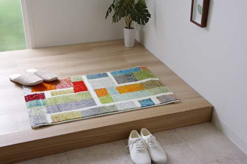 イケヒコ 玄関マット ラグマット エデン アイボリー 約5080cm ウィルトン #2042639アイボリー約50×80cm