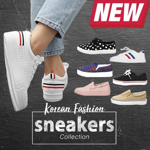 ★送料無料★ Korean Premium Fashion Sneakers / 韓国プレミアムスニーカー 7デザイン