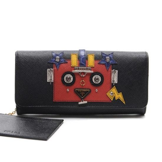 [プ ラ ダ][ユニコ]17S/S女性ロボットトライアングルジャン財布(1MH1322EEXF000 財布/レディース財布/ベルト/財布/韓国ファッション