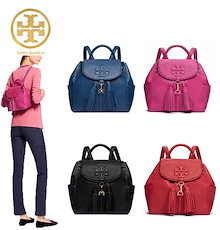 🔥Qoo10クーポン使えます♪🔥TORY BURCH ☆THEA MINI BACKPACK