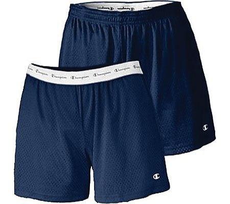 "Champion Ladies Active 5""  Mesh Shorts - Navy - 2XL"