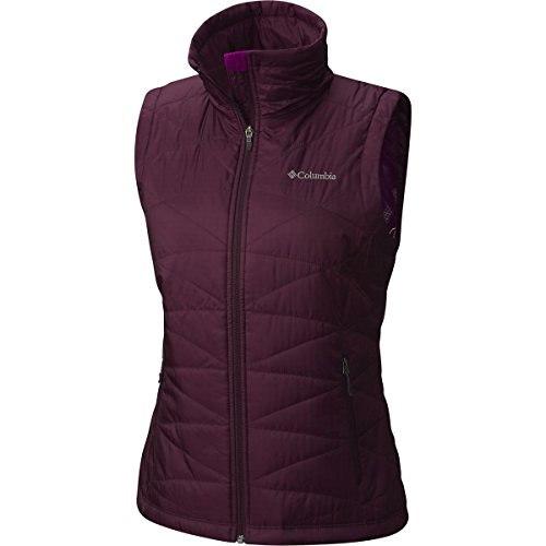 Columbia Womens Mighty Lite III Vest, Purple Dahlia, Large