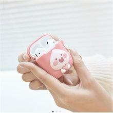 [KAKAO FRIENDS] Kakao Friends Airpods Case Heart Apeach / カカオ·フレンズ·エアポッドケース·ハート·アピーチ /  韓国製