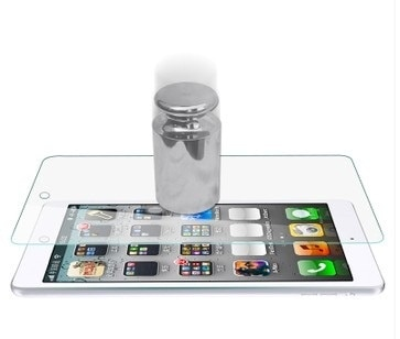 iPad Air/Air 2用 iPad 5/6世代用強化ガラスフィルム/保護シール/保護シート硬度9H 0.3mm 傷付け不可能フィルム飛散防止9H/衝撃吸収/傷汚れる防止【管理番号:A127】