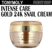 d660ffdb111f ☆TONYMOLY☆[c] Intense Care Gold 24K Snail Creamインテンスケアゴールド24k