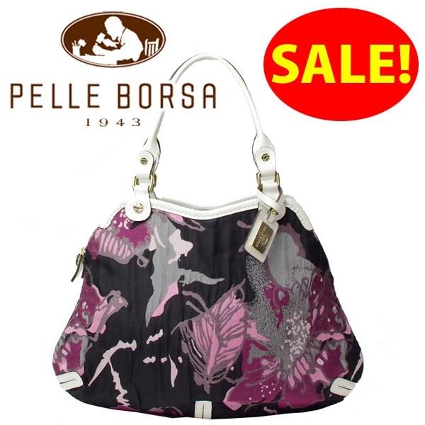 ペレボルサ PELLE BORSA バッグ フラワー ショルダーバッグ 6514 ピンク [かばん バック]