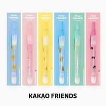 【Kakao friends】カカオフレンズ・リトルフレンズノック型蛍光ペン3個セット/Little friends knock type highlighter 3p set/6種