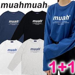 [MUAHMUAH] 1+1 行使 💜 MUAH SIGNATURE GRAPHIC T-SHIRTS💜 / ☆割引クーポン☆ 韓国人気商品 送料無料