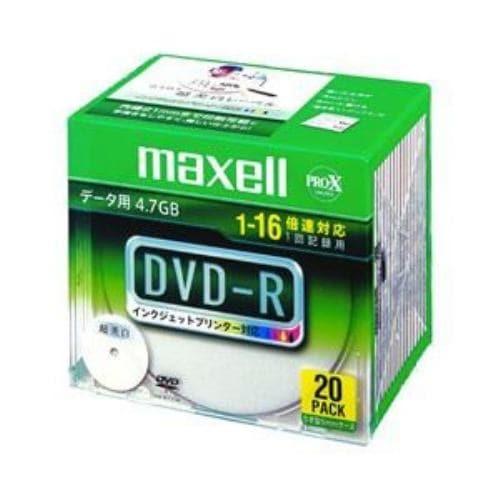 DR47WPD.S1P20S A (DVD-R 16倍速 20枚組)