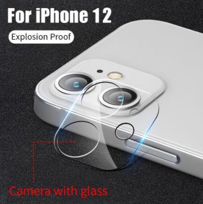 【カラータイプ入荷】iPhone12/12 Pro/Mini/ProMax /11/11 pro/11proMAX カメラレンズ 3D フル ガラス フィルム iPhone カメラ