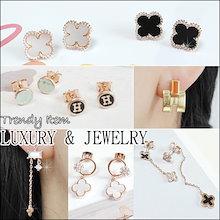 💕 ピアス💕  5月20日 新アップデート Trendy 人気ピアス / リング/ブレスレット/アンクレット - Korean Style Earrings 新作入庫