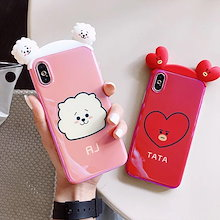 BTS  BT21 防弹少年团 For iPhone Xケース iPhone8Plusケース iphone7 Plusケース iphone6 ケース あいふぉん7ケース あいふぉん6ケース