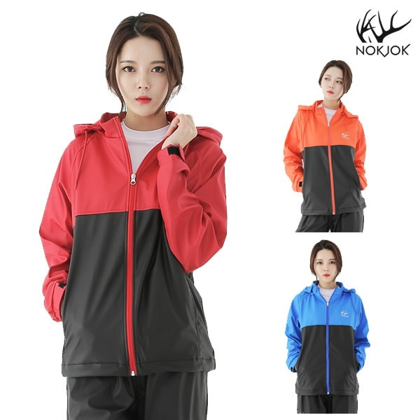 Nokjok R91W black Sweat suit Womens jacket