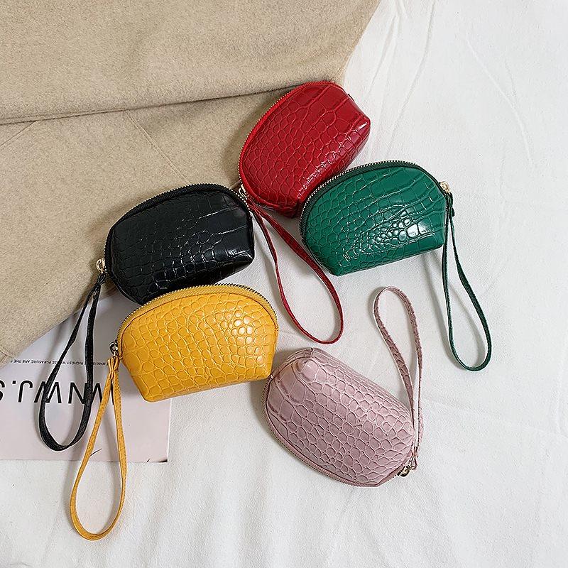 Honeybag2020大流行コインケース 財布 ミニ財布 ポーチ キーケース 韓国ファッション 財布 レディース 使いやすい 革 PUレザー 薄い5色小銭入れサイフCY3101