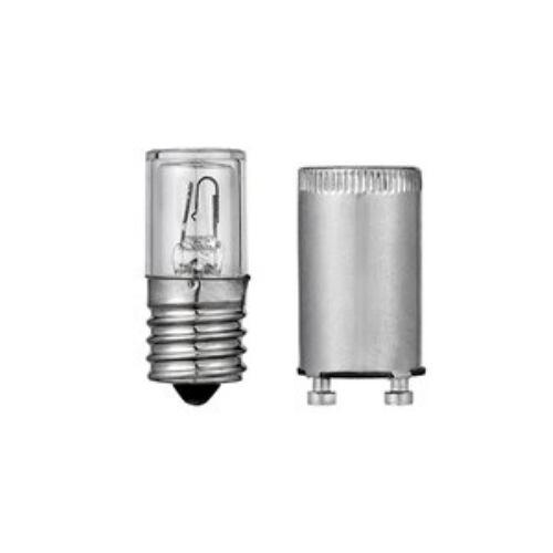 エルパ G-59BN 点灯管セット FG-1E(E17 ネジ込み式 30W形用)・FG-5P(P21 差し込み式 32W形用) 2個入