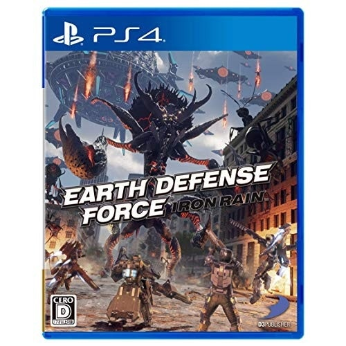EARTH DEFENSE FORCE: IRON RAIN [PS4]