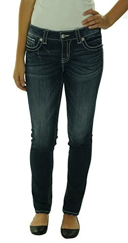Miss Me Simple Five Pockets Midrise Skinny Jeans MS5151S55 (30)