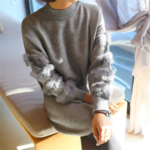 ルイ・ニット・ワンピースnew ニットワンピース/ワンピース/韓国ファッション