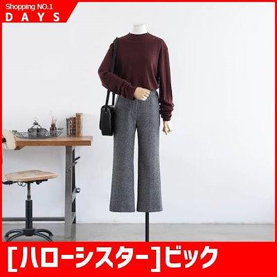 [ハローシスター]ビックサイズ/ハローシスターロジプ[ウルバンポルラティー] /タートルネック/ポルラティーシャツ / / 韓国ファッション