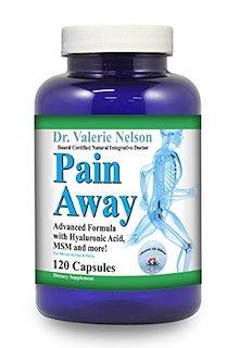 関節痛緩和のためのウコン(MSM)、ボスウェリア、ヒアルロン酸を配合した痛み止め(120キャップ)