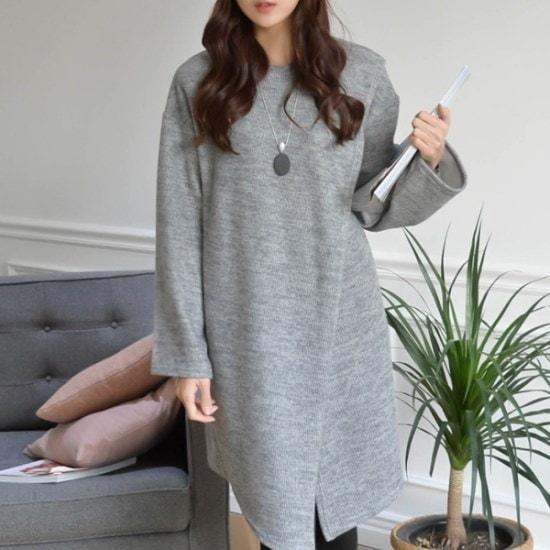 妊婦服・ドット・コムラップスタイル88 99サイズのワンピース ニット/セーター/ニット/韓国ファッション