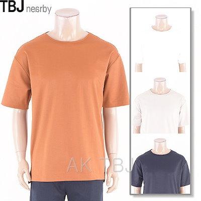 TBJ[AK公式ストア]【TBJ] [TBJ】メンズブント半袖Tシャツ(T192TS190P)