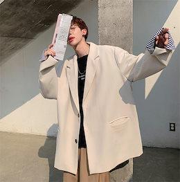 \いまだけの超SALE価格🔥 韓国ファッション ファッション カジュアル ジャケット 秋 韓国版 オシャレ スーツ 男性 学生 タイドファッション ハンサム ゆったりする 百掛け