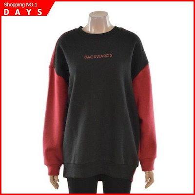女性ルーズフィット小売配色マンツーマンティーシャツ-T174TS720P /ルーズフィット/エイ/ボックスTシャツ/ 韓国ファッション