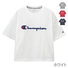 Champion チャンピオン Tシャツ 半袖 クルーネック レディース ブランドロゴ