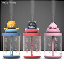 【Kakao friends】カカオフレンズUSBミニ加湿器/Kakao friends USB mini humidifier/3種・専用コップ・専用フィルター・USB電源