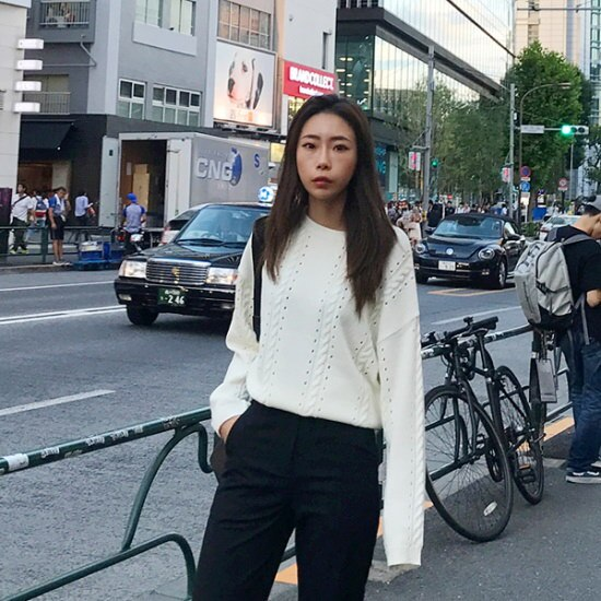 欲しいかスカジーニット ニット/セーター/ニット/韓国ファッション