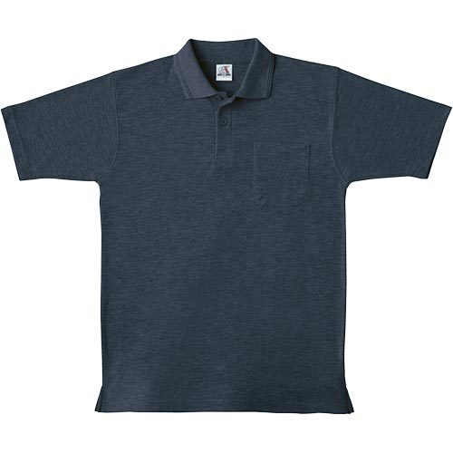 桑和(SOWA) 半袖 ポロシャツ 1/ネイビー SS~3Lサイズ 0027 【作業着 作業服 ワークウェア ウエア トップス メンズ】
