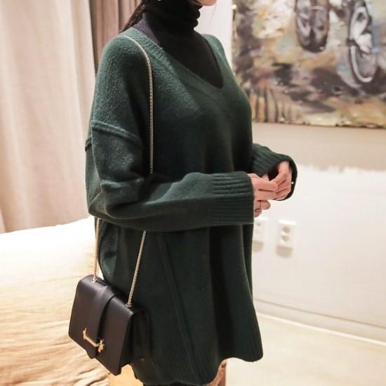 ロロテンデイリーVボックス・ニット ニット/セーター/ニット/韓国ファッション