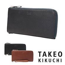 300de3bbbe8506 タケオキクチ 長財布 メンズ 日本製 ロビン 815015 TAKEO KIKUCHI L字ファスナー 財布 スマートフォンポケット