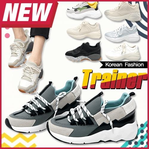 ★送料無料★ Korean Premium Fashion Over Sized Trainer Collection / プレミアムブランドスニーカー 8デザイン  スニーカー レディース