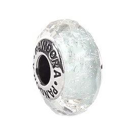 5cfee3d05 パンドラ PANDORA / FROSTY MINT SHIMMER GLASS チャーム #791656新春初売り大特価中
