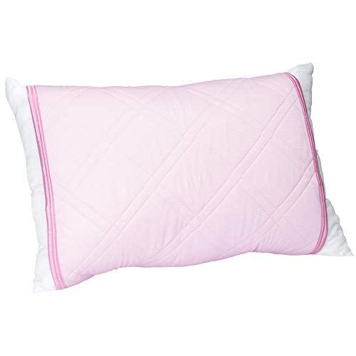 東京西川 クール枕パッド ピンク 63X43cmのサイズの枕に対応 速乾 クール PM77004561P