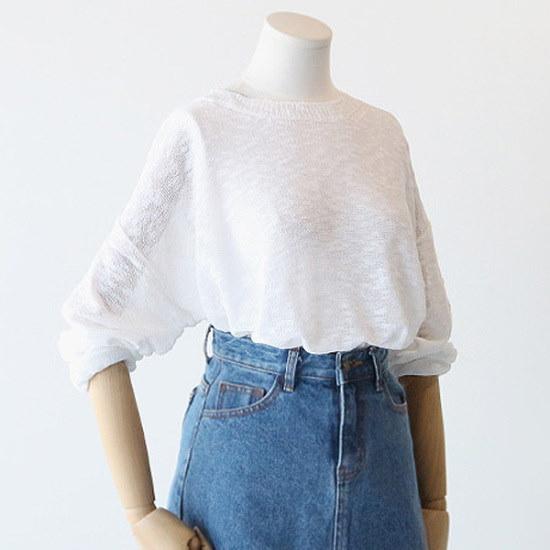 ピグメントにディートであることニートA17052302 ニット/セーター/韓国ファッション