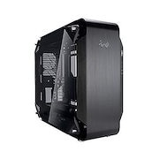 SST-SG13B-USA SilverStone Technology Ultra Compact Mini-ITX Computer Case with Mesh Front Panel Black