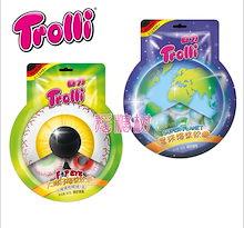 【TROLLI  地球グミ】 トローリ PLANET GUMMI Jelly POP EYE Jelly SPACE 地球グミ 15個 Jellyグミ  目玉グミ ASMR お菓子 韓国グミ