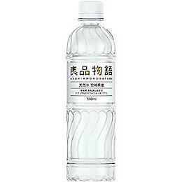 良品物語 宮崎県産 シリカ69mg/L含有 ミネラルウォーター 天然水 500ml×24本