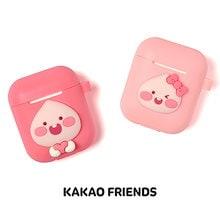 [ カカオフレンズ Kakao Friends ] キュートな アピーチ エアパッド ケース AirPods case スマホ用 音楽グッズ イヤホン/ヘッドフォン
